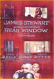 Rear Window, Hitchcock Movie Poster