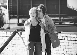 Sarah Polley and Stephen Rea